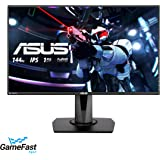 """Asus VG279Q 27"""" Full HD 1080p IPS 144Hz 1ms (MPRT) DP HDMI DVI Eye Care Gaming Monitor with FreeSync/Adaptive Sync, Black"""