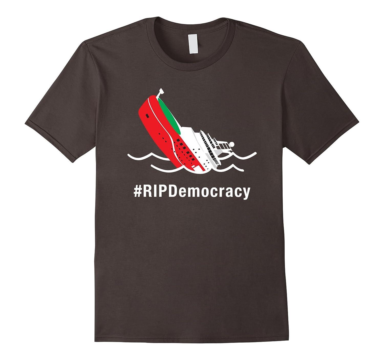 #RIPDemocracy Shirt, Boaty McBoatface RIP Democracy Funny