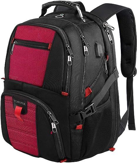 Amazon.com: Mochila extragrande, mochila para ordenador ...