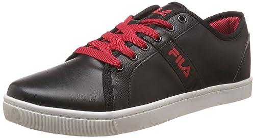 8414542732f0 Fila Men s Energy Black and Red Sneakers -6 UK India (40 EU)  Buy ...
