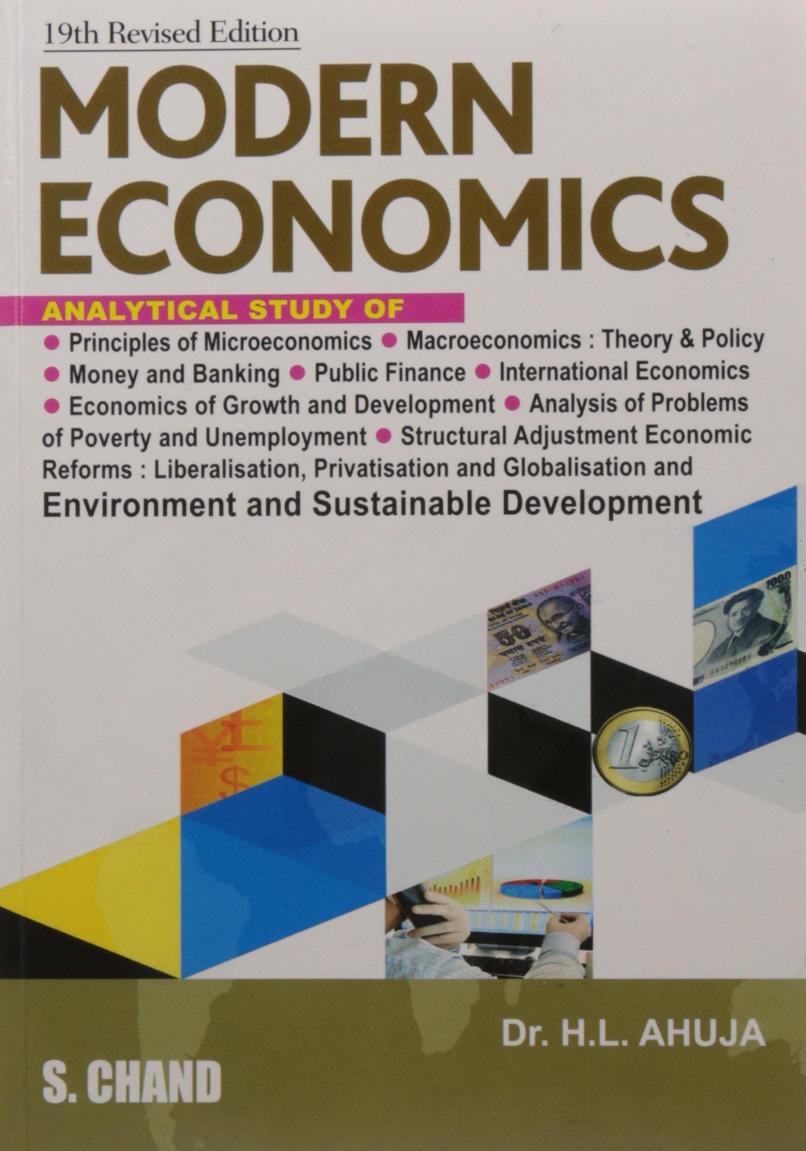 hl ahuja macroeconomics free download