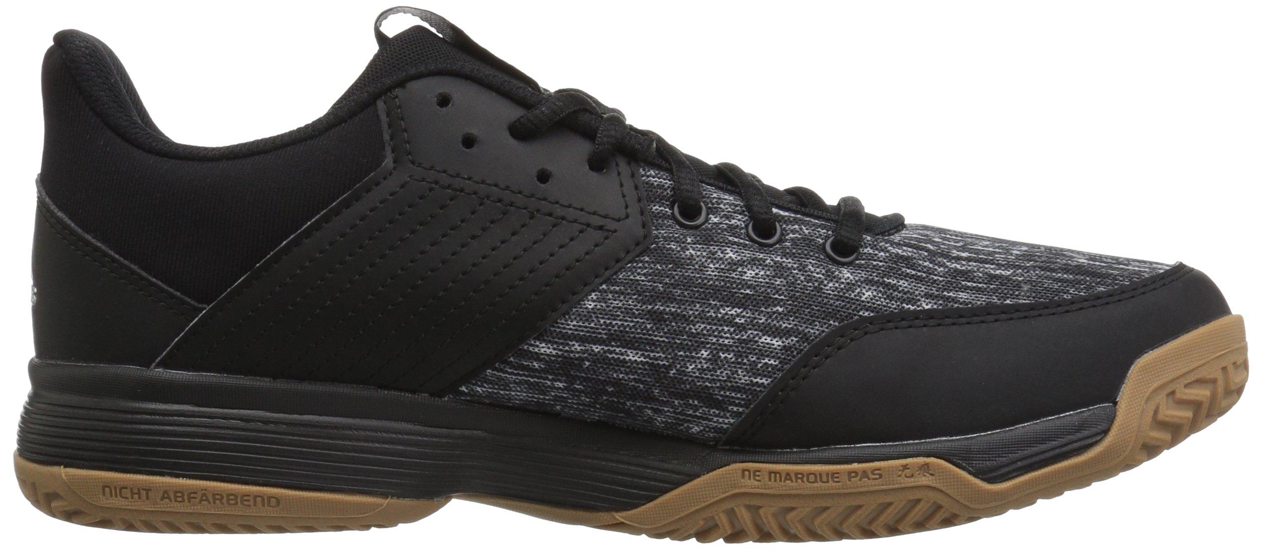 adidas Women's Ligra 6 Volleyball Shoe, Black/Silver Metallic/White, 7 M US by adidas (Image #6)
