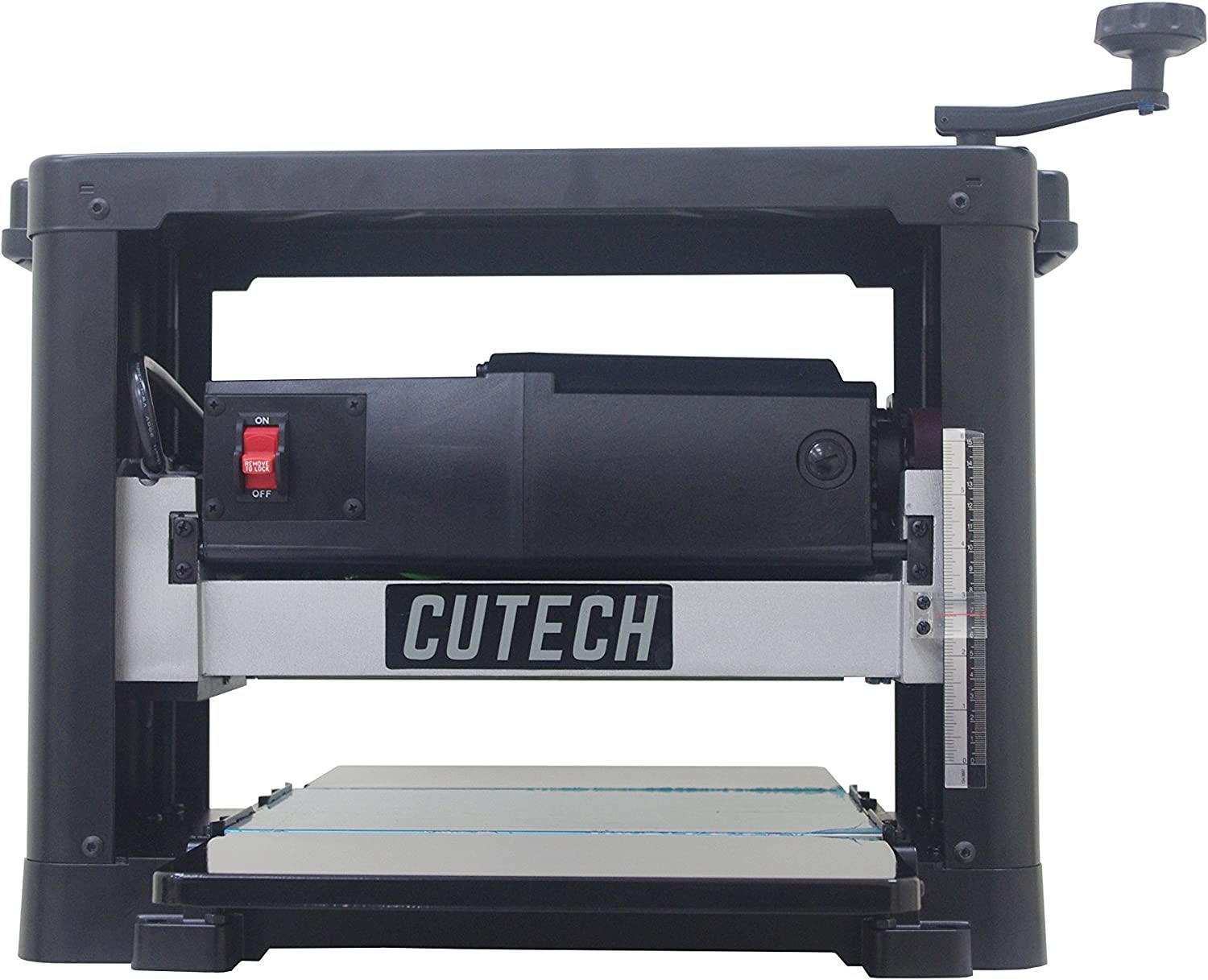 Cutech 40700-CT 12 1 2 Straight Knife Planer – Budget Model