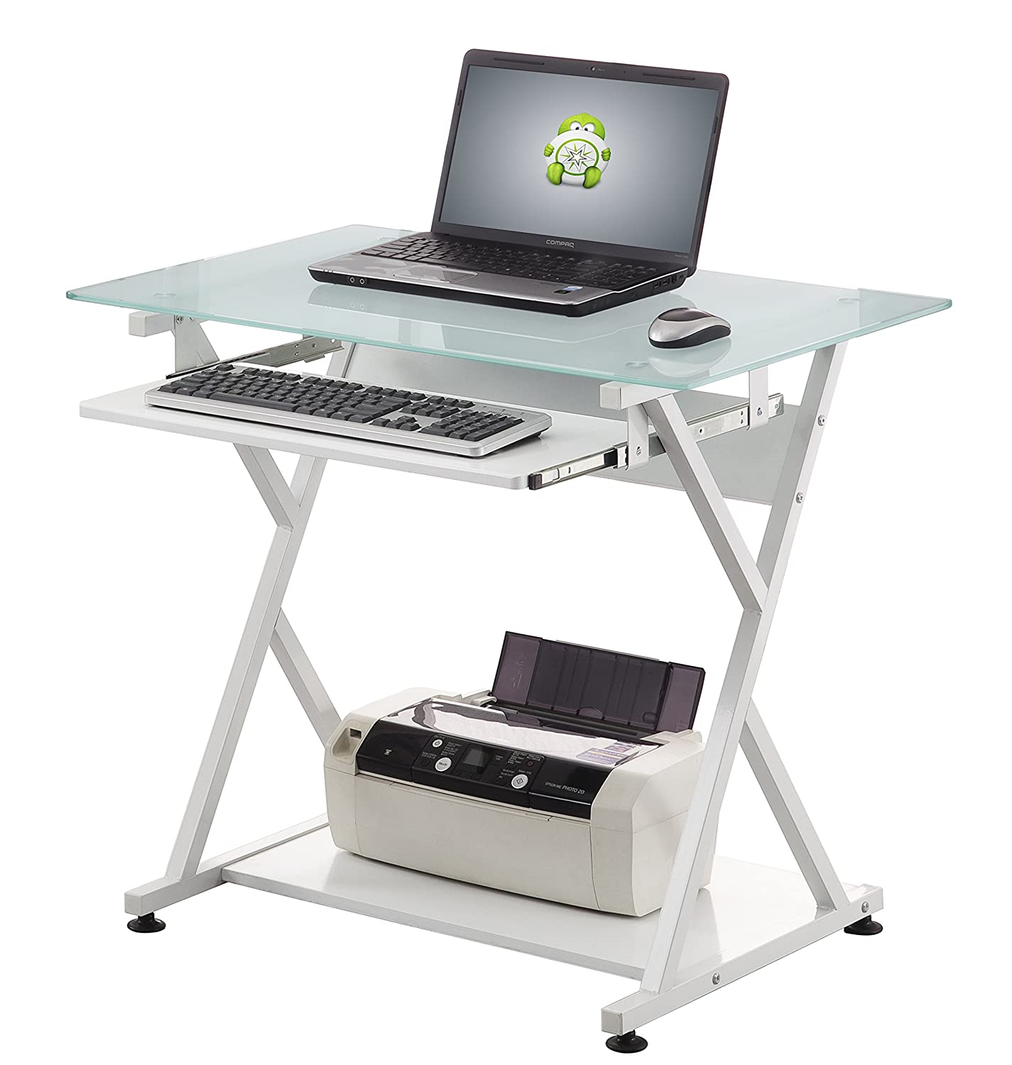 Accord CED-204 Home Office Desk Small White