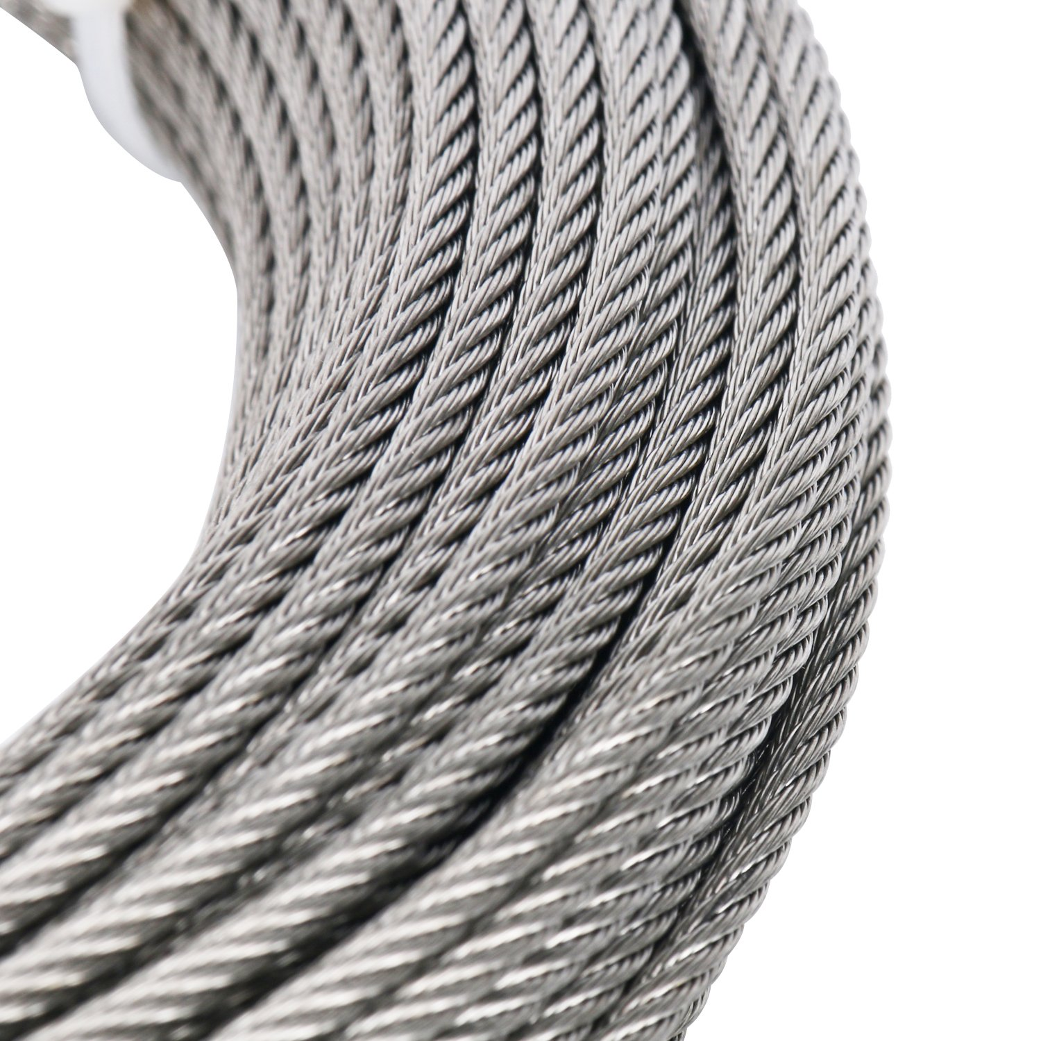 DasMarine Stainless Aircraft Steel Wire Rope Cable for Railing,Decking, DIY Balustrade, 1/8Inch,7x7,164Feet by DasMarine (Image #5)