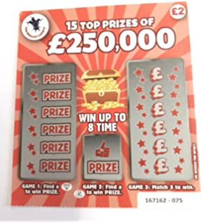 FAKE SCRATCH CARDS AMAZON