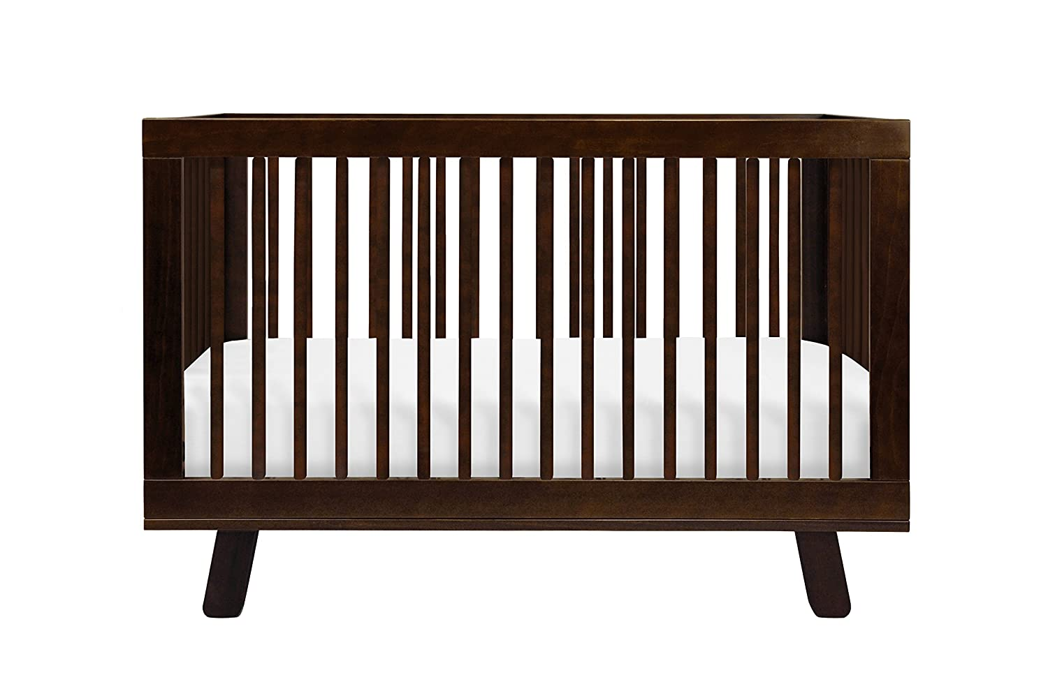 Amazon com babyletto hudson 3 in 1 convertible crib with toddler bed conversion kit espresso babyletto hudson brown baby