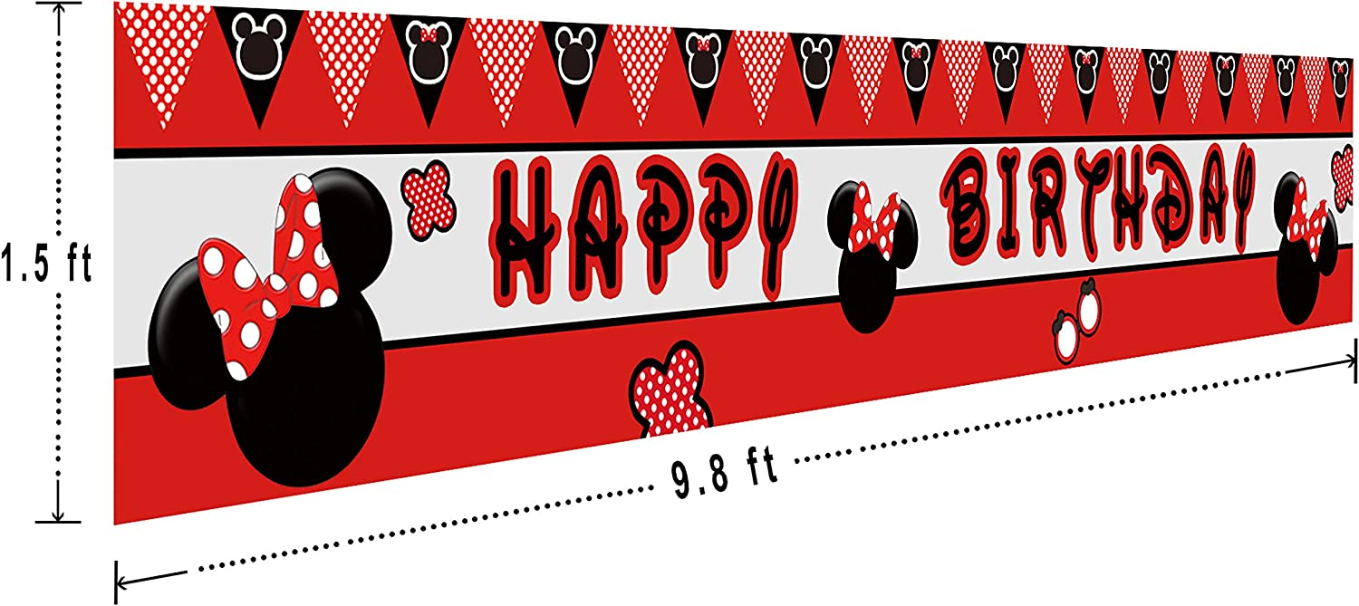 Donut Time Birthday Party Decorations Supplies Donut Grown Up Party 9.8 x 1.5 feet Indoor Outdoor Colormoon Large Donut Birthday Banner