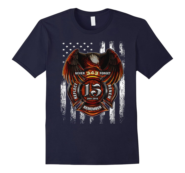 15Th Anniversary September 11 - Firefighter Shirt-CL