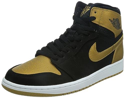 Nike Air Jordan 1 Retro High, Zapatillas de Deporte para