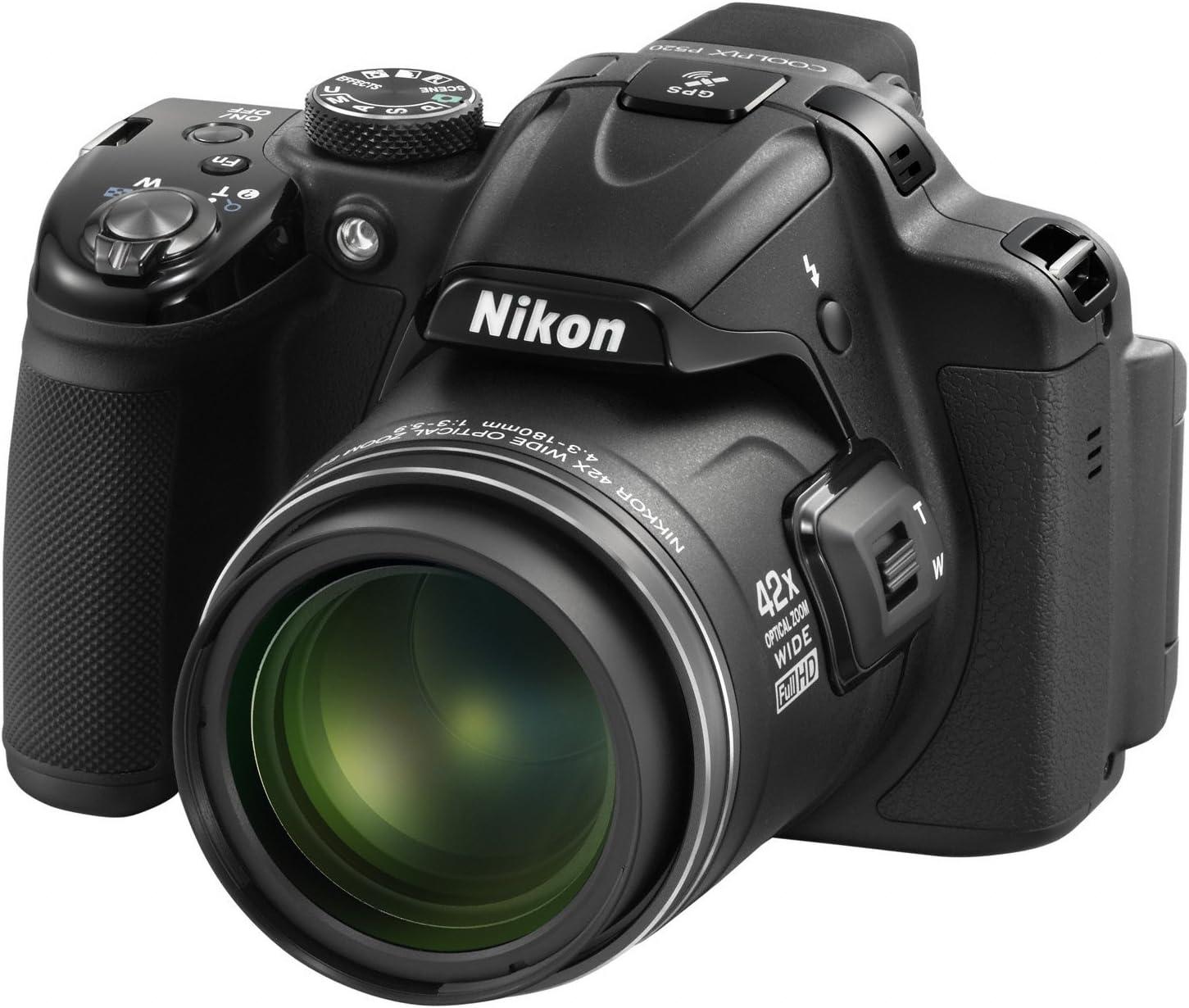 Nikon P520 - Cámara compacta de 18 MP (Pantalla de 3.2