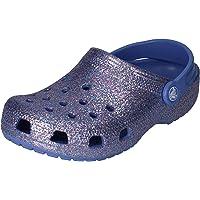 Crocs Classic Glitter Clog Kids, Obstruccin Unisex niños