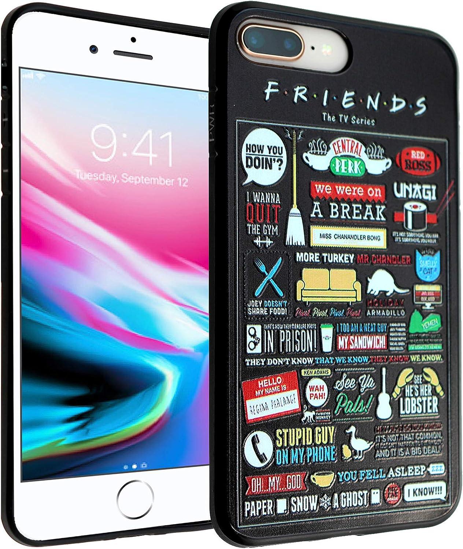 iPhone 7 8 Plus CASEMPIRE Friends TV Show TPU Case Shock Proof Never Fade Slim Fit Cover for iPhone 7 8 Plus Friends