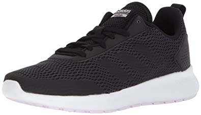 adidas Women's Element Race Running Shoe, Black/Carbon/Aero Pink, ...