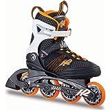 K2 Damen Inline Skates Alexis 80 Mehrfarbig - ABEC 5 Kugellager 80mm Rollen 80A Softboot - Fitness Inline-Skates Inliner Frauen