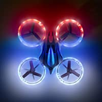 Mini Drones for Kids and Beginners – UFO 4000 Bright LED RC Drone Gifts for Boys or Girls, Quadcopter Helicopter Remote Control Toys w/ Extra Battery