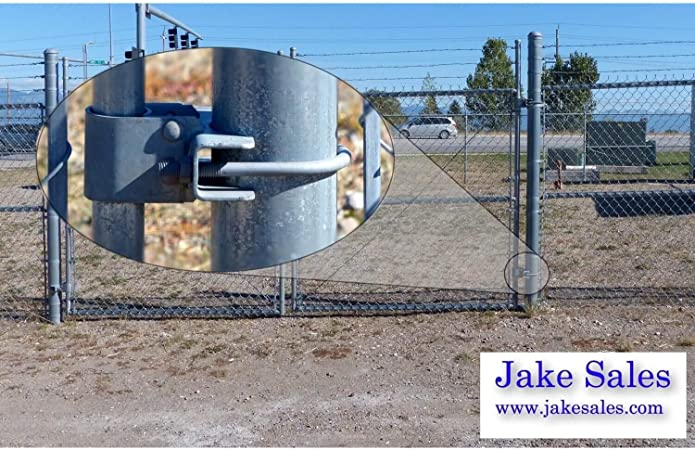 "10834 4/"" x 1-5//8/"" or 2/"" Bull Dog Hinge for Chain Link Fence"