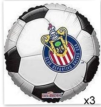 Amazoncom Chivas Soccer Party Supplies Balloon X3 Futbol