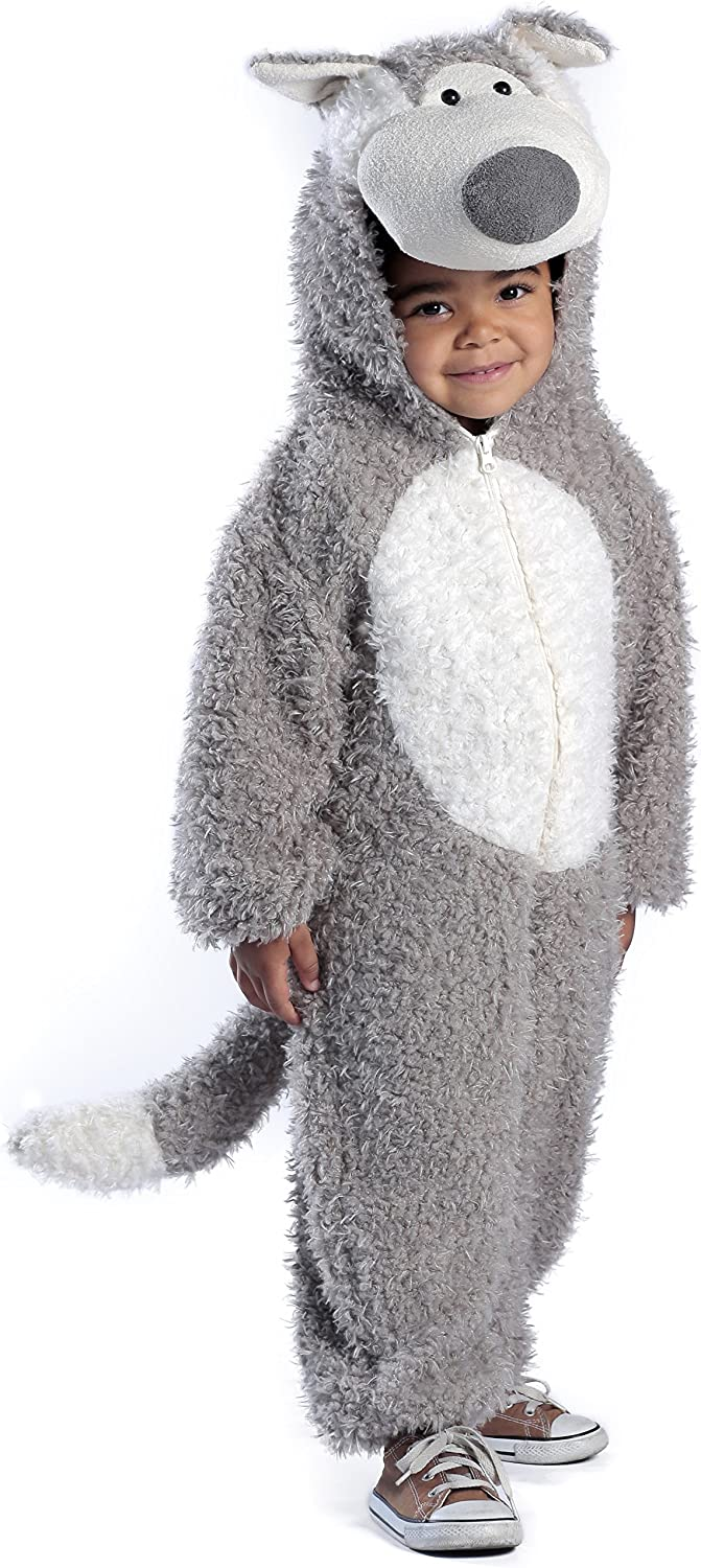 Child's Big Bad Wolf Deluxe Costume, As Shown, X-Small