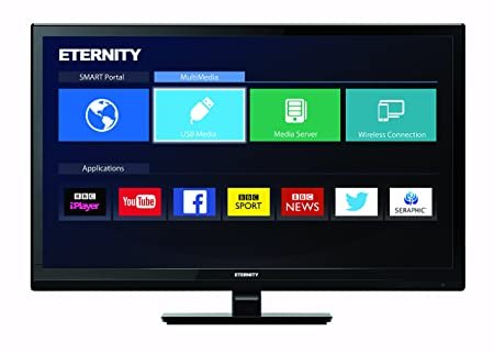 Eternity 24-Inch HD Ready LED Smart TV with Freeview HD: Amazon.co