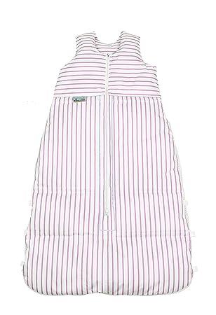 ARO Artländer 87590 - Saco para bebés (130 cm), diseño a rayas, color blanco y rosa: Amazon.es: Bebé