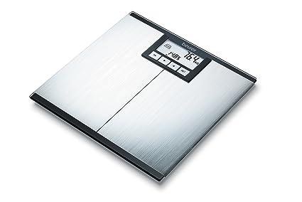 Beurer BG 42 - Báscula Digital de vidrio (tamaño 32 x 32 cm, LCD