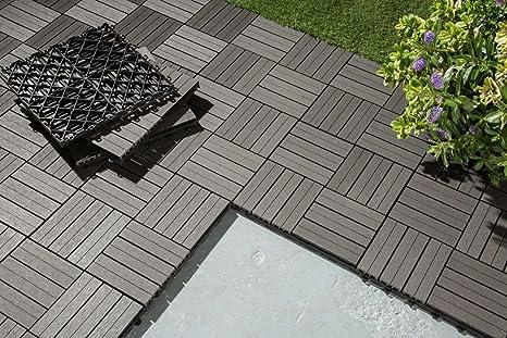 Soggiorni wohl confezione di giardino piastrelle i terrazzi