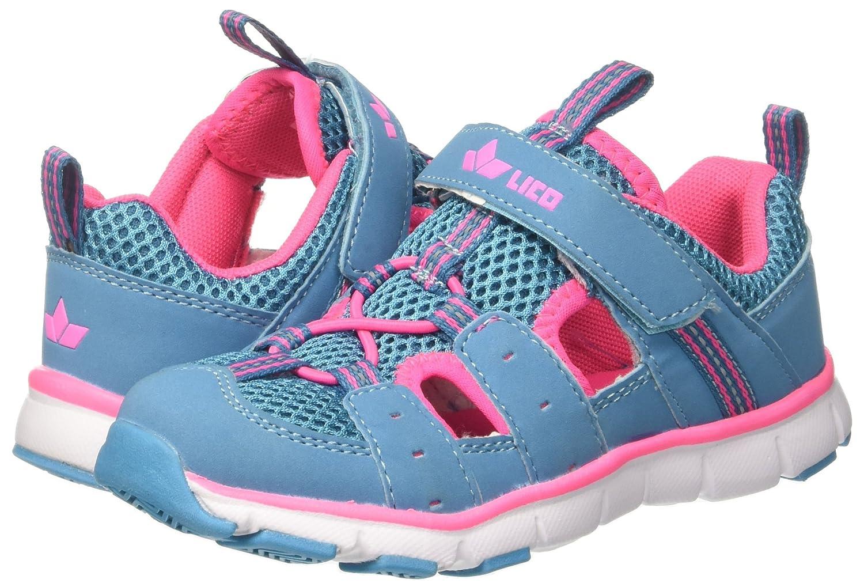 Lico Mädchen Matti Vs Sneaker, Türkis (Tuerkis/Pink), 31 EU