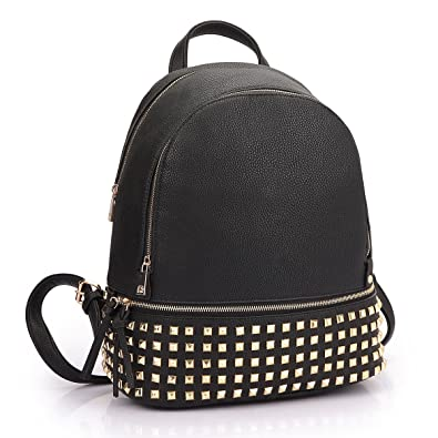 Amazon.com: MMK collection Women Fashion Studded Backpack(04-6582 ...