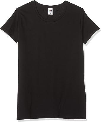 Fruit of the Loom Ladies Iconic Tee, Lightweight Ringspun Tee, 3 Pack - Camiseta Mujer: Amazon.es: Ropa y accesorios