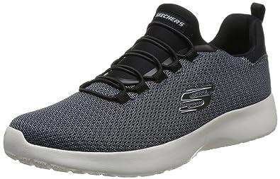 e7de5964fe9ea Skechers Men's Dynamight Black Walking Shoes