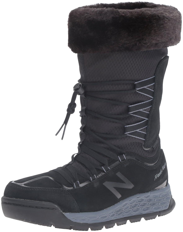 New Balance Women's BW1000V1 Fresh Foam Walking Shoe B01CQV28NM 12 B(M) US|Black/Grey