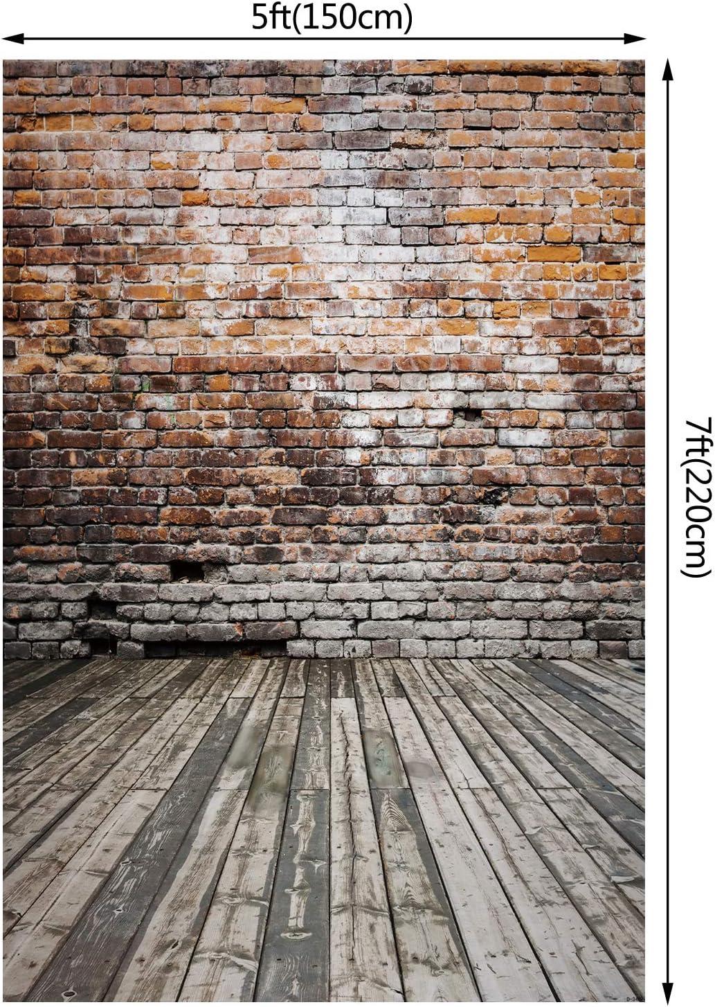 PHOTOGRAPHY Background photo studio photography Brick 5X7 FT . 150CM X 220CM