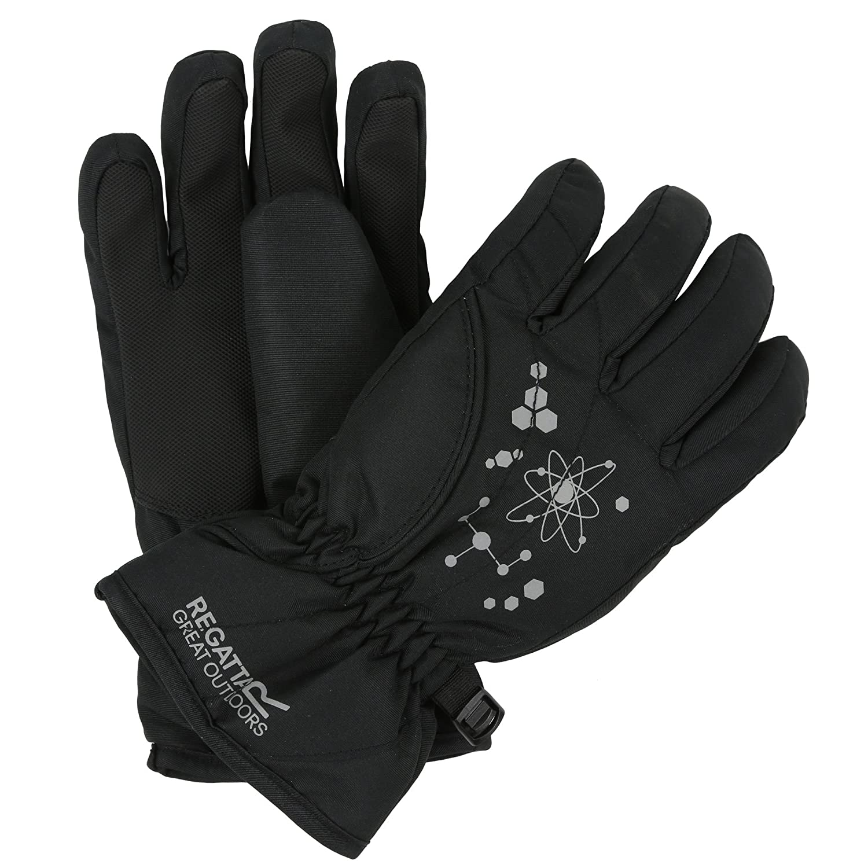 Regatta Boys Arlie Ii Waterproof Insulated Reflective Print Gloves