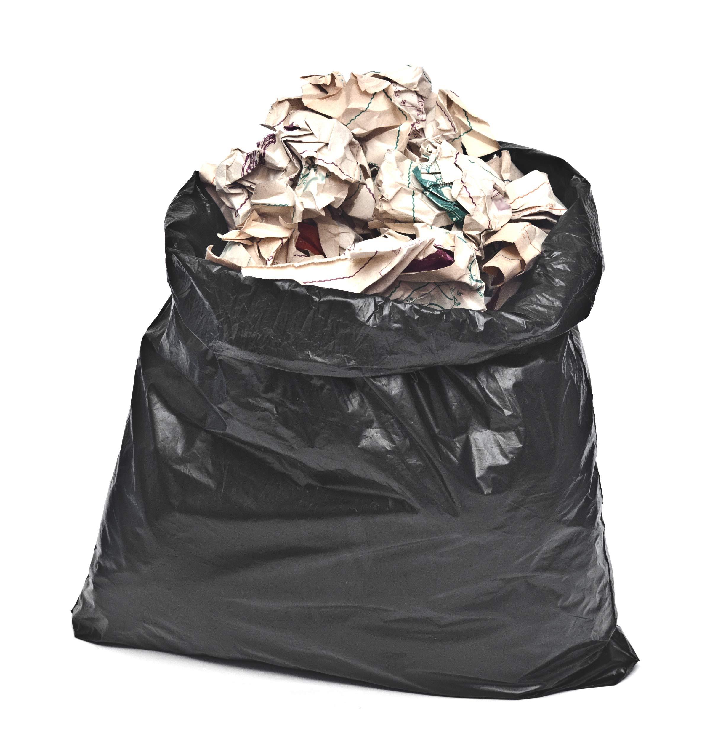 Toughbag 95 Gal Trash bags, Black, 2 Mil, 61x68, 25 Garbage Bags Per Case by ToughBag (Image #4)