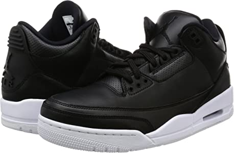78b8e521657b 136064-020 Men AIR 3 Retro Jordan Black White. 136064-020 Men AIR 3 Retro  Jordan Black White
