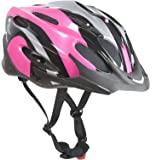 Sport Direct? Damen-Fahrradhelm Pink mit 22 Belüftungsschlitzen