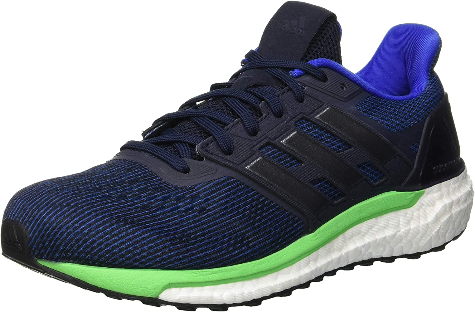 adidas Supernova M, Zapatillas de Running para Hombre, Azul (Legend Ink/Night Met./Shock Lime), 42 EU: Amazon.es: Zapatos y complementos