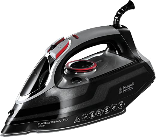 Russell Hobbs Powersteam Ultra 3100 W Steam Iron - Best for Efficiency