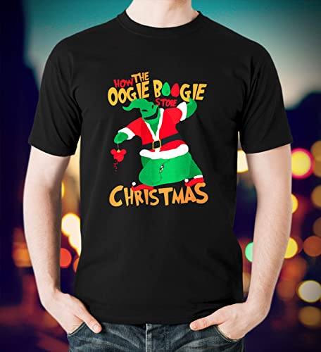 d4b91acf0 Amazon.com: Dr Seuss How The Oogie Boogie Stole Christmas Grinches The Grinch  Christmas Custom T-Shirt Sweetshirt Hoodie: Handmade