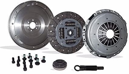 Clutch Conversion Kit With Solid Flywheel Works With Audi A4 Quattro Volkswagen Passat Avant Base Luxury