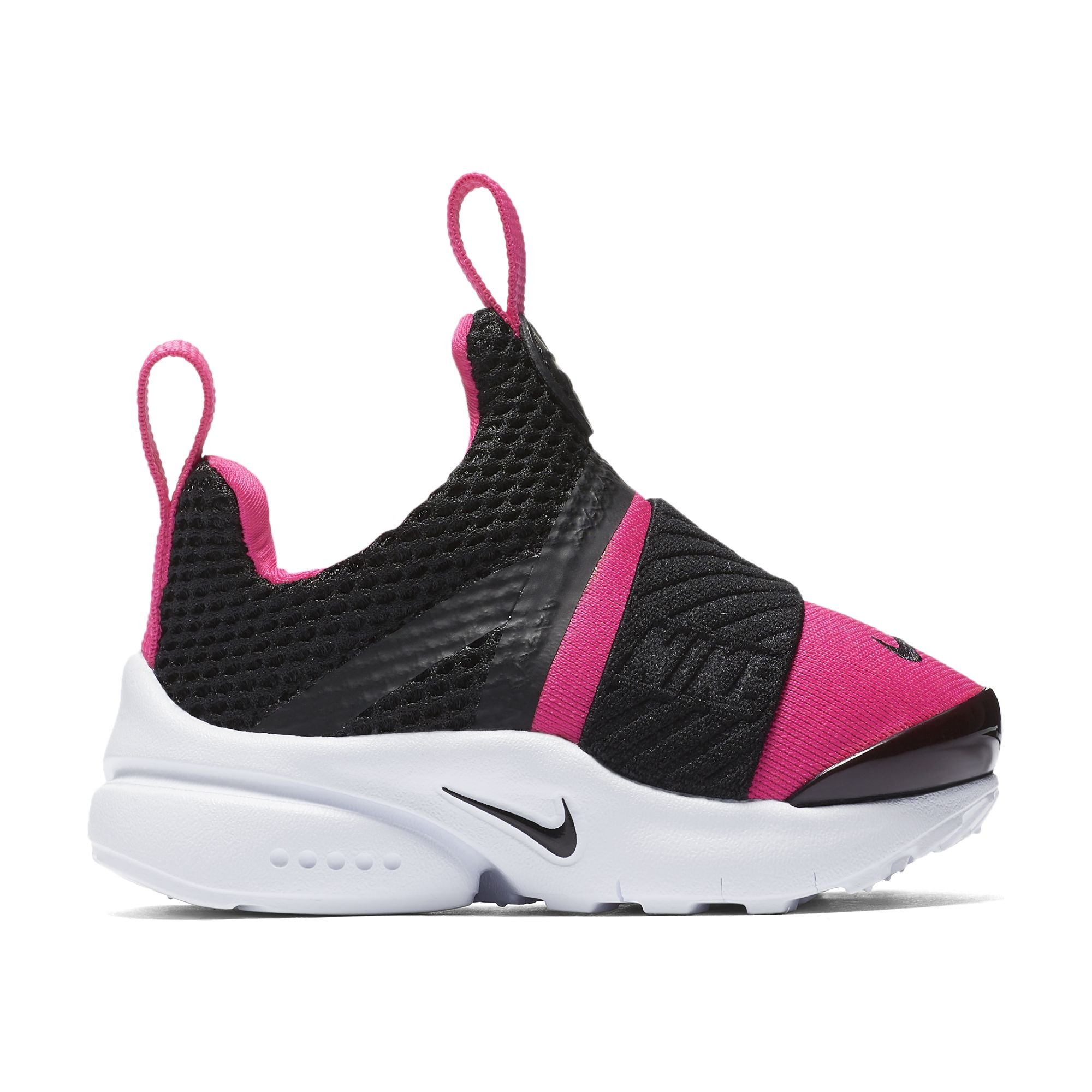 8a018a3508d5 Galleon - NIKE Presto Extreme Toddlers  Shoes Black Black Pink Prime White  870021-004 (6 M US)