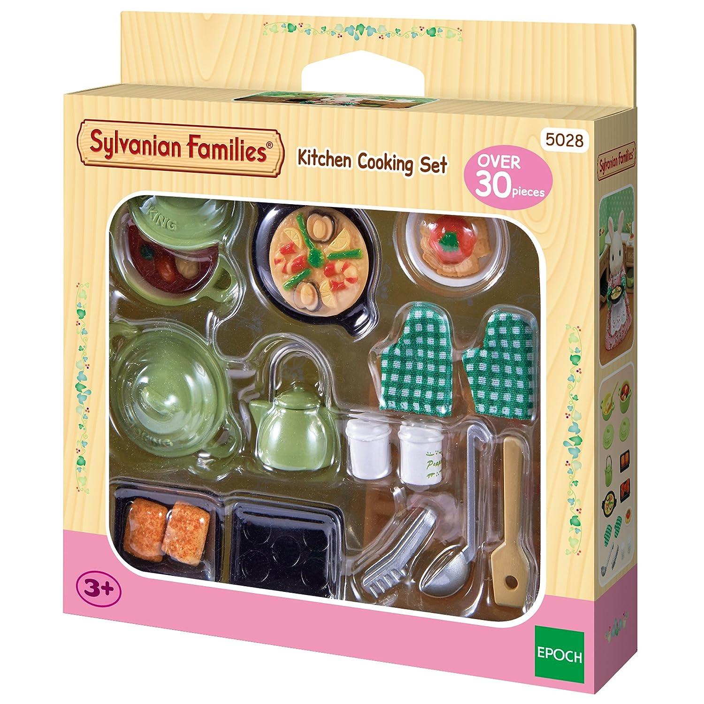 Sylvanian Families - Set cocina (Epoch para Imaginar 5028) Epoch D' enfance