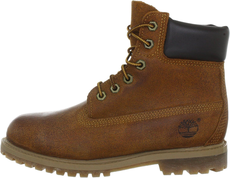 Timberland Damen AF 6IN PREM MED BROWN Boots, Braun (Medium