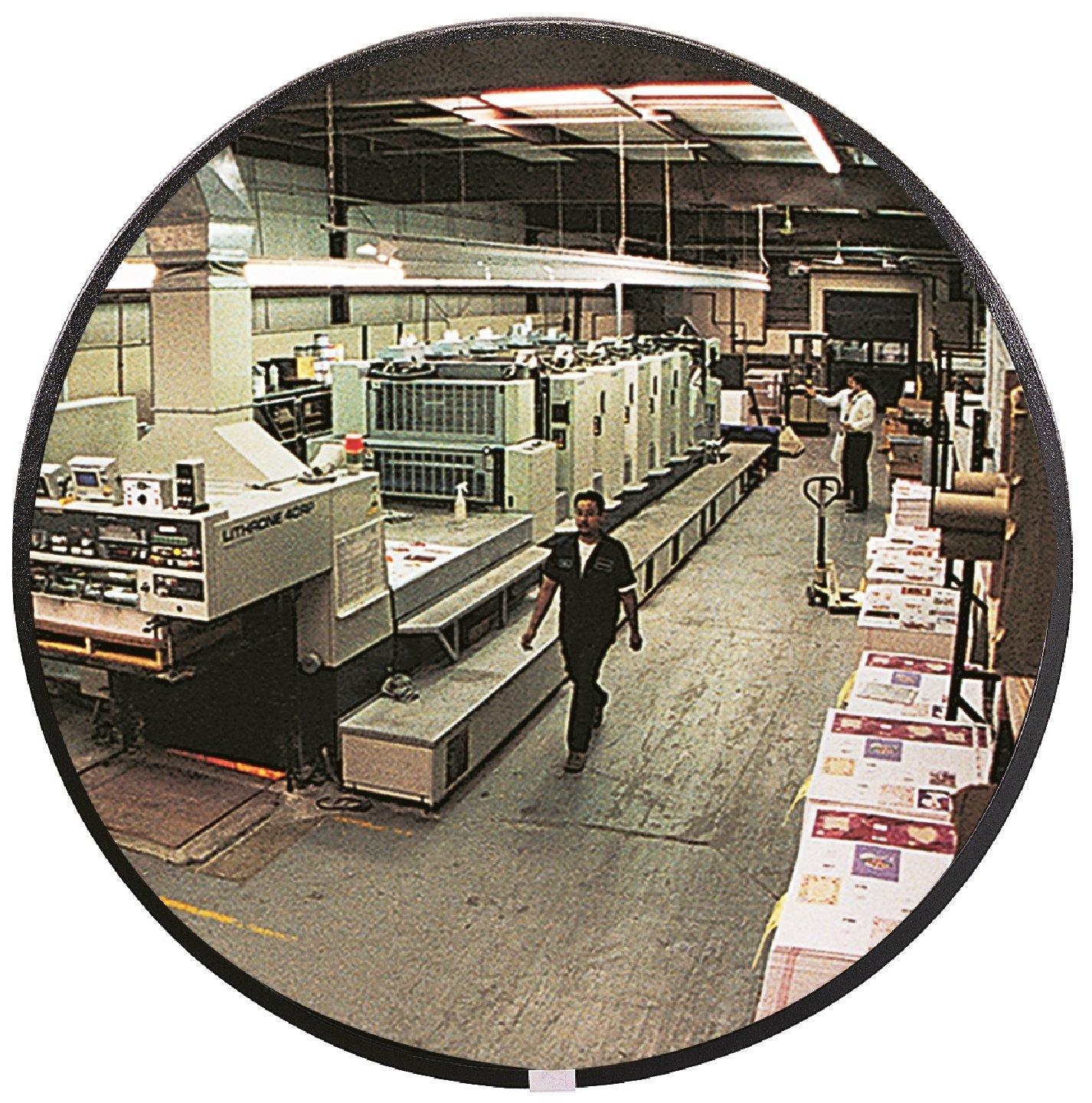 See All N12 Circular Glass Indoor Convex Security Mirror, 12'' Diameter (Pack of 1)