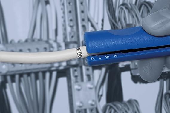 Az/úl//Rojo talla /única 16 // Longitudinal//Cutter//Made in Germany WEICON 52000016 Pelador Multifunci/ónal No