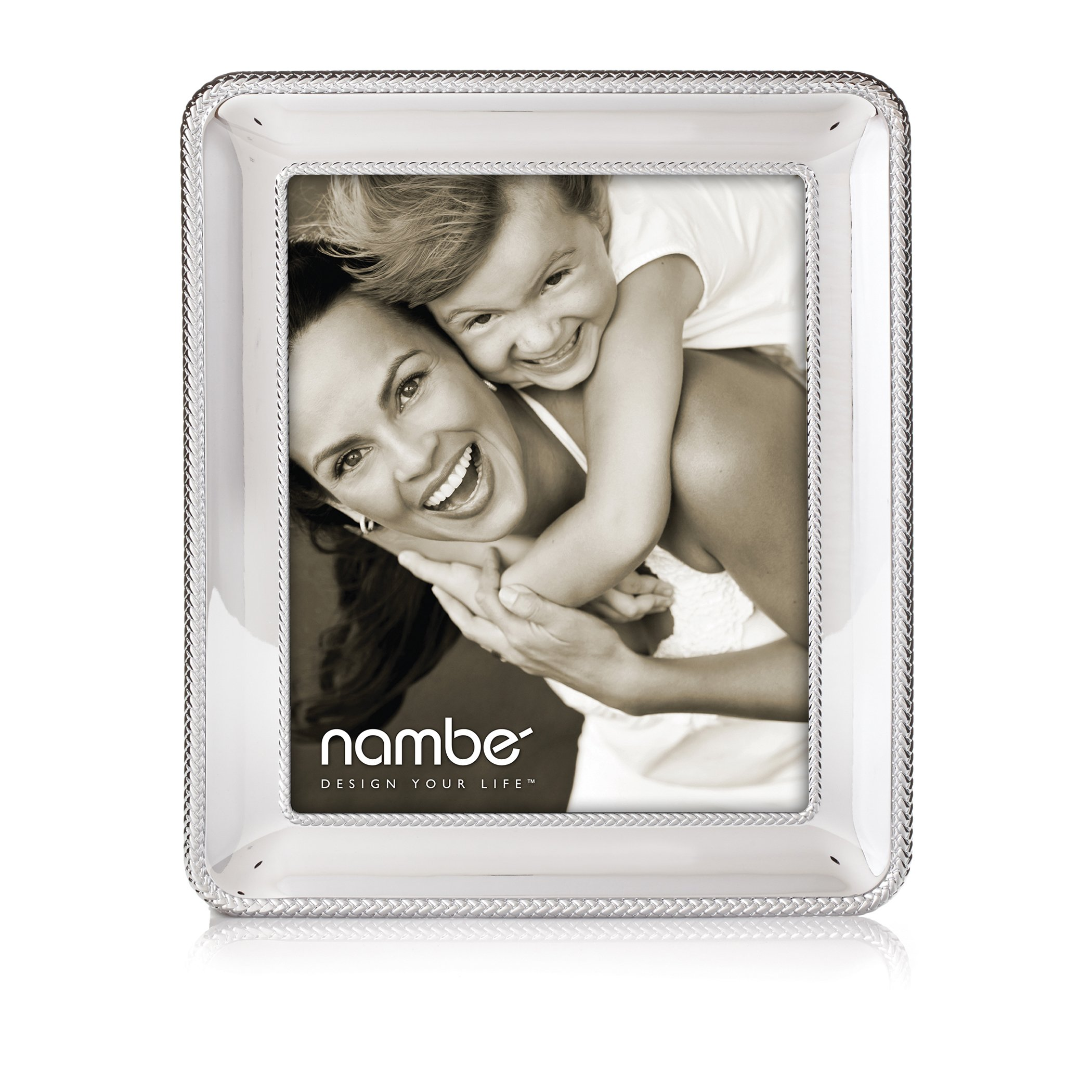 Nambe Braid Picture Frame, 8'' x 10''
