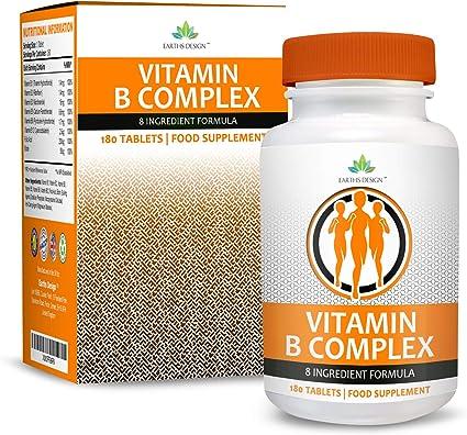 Vitaminas Complejo B - Para Hombres y Mujeres