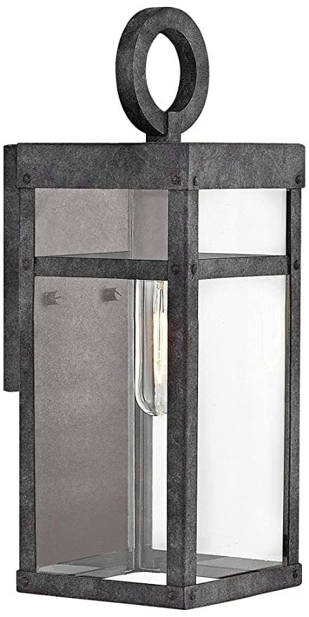 the best attitude 82d3d 626ee Hinkley 2806DZ Porter Outdoor Wall Sconce, 1-Light 100 Watts ...