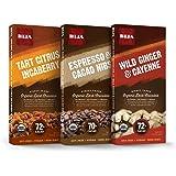 BIJA Chocolates Organic 70%, 72% Dark Chocolate Adventure Bundle